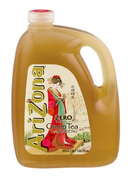 Arizona Zero Calorie Green Tea with Ginseng